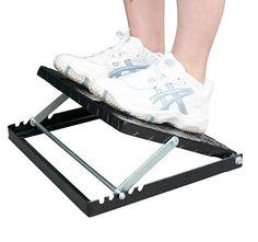 ... Adjustable Incline Calf Stretch Slantboard Professional Wooden Slant Board