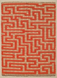 Textiles are brought to the fore in the art world with a retrospective of Anni Albers at London's leading contemporary art gallery, Tate Modern. Josef Albers, Anni Albers, Art Textile, Textile Artists, Textile Design, Op Art, Bauhaus Textiles, Bauhaus Art, Modern Art