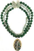 Rosantica|Artemide agate and opal necklace|NET-A-PORTER.COM