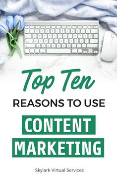 Content marketing can sound like a lot of work – producing content, marketing it on social media, maybe some paid ads.  There's a lot of moving parts!  But there are some strong reasons that you should use it for your business and here are 10 of them to help you see the worth of content marketing for any online business! #contentmarketing #onlinebusiness #digitalmarketing