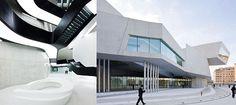 Архитектор Заха Хадид, Музей искусств 21 века, Рим, Италия