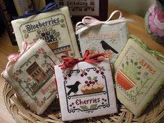 Little House Needleworks: Fruit Salad Thread Packs