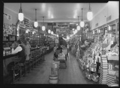 [Interior view of O. Henry Drug Store] :: Greensboro Medical History Collections