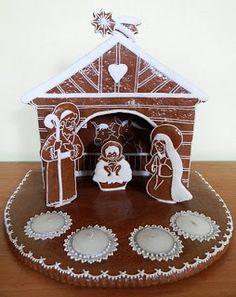 Christmas Gingerbread, Gingerbread Cookies, Christmas Cookies, Gingerbread Houses, Christmas Candle, Christmas Baking, Christmas Time, Chocolates, Advent Wreath