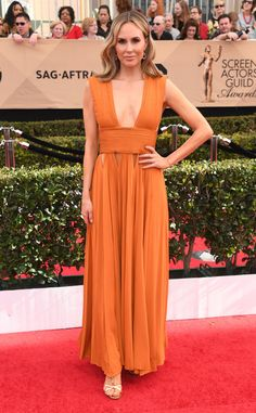 Keltie Knight from 2017 SAG Awards: Red Carpet Arrivals  In Givenchy