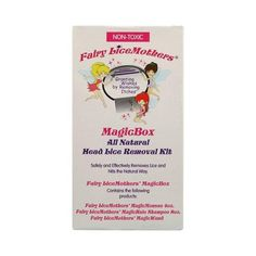 Wholesale Fairy Lice Mothers MagicBox Head Lice Removal Kit - 1 Kit, [Baby & Children, Childrens Health]  Wholesale price - Fairy Lice Mothers MagicBox Head Lice Removal Kit Description: Safely and Effectively Removes Lice and Nits the Natural Way - Contains the Following Products: - - - Fairy Lice Mothers MagicMousse 4oz - Fairy Lice Mothers MagicHalo Shampoo 8oz - Fairy Lice Mothers Magic Wand Fairy Lice Mothers Magic Box All Natural Head Lice Removal Kit contains everything you need...