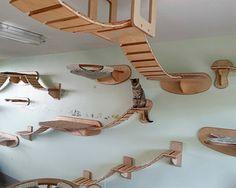 Cat Furnishings - http://www.2014interior.com/cute-things/cat-furnishings/