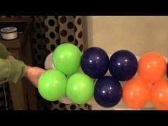 Balloon Walls - Duplet Square Pack Technique