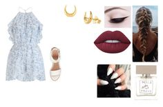 """""""Saturday"""" by isabellasmall on Polyvore featuring Zimmermann, BEA, Lime Crime, Dinny Hall and Bella Freud"""