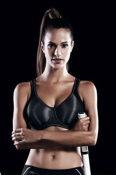 fff366d934505 The Anita Active Momentum Underwire Sports Bra is a high impact
