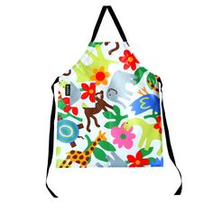 These brightly colored organic aprons protect your child's clothing from any number of craft-related messes!
