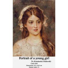 Set Goblen Portrait of a young girl http://set-goblen.ro/portrete/4192-portrait-of-a-young-girl.html