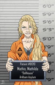 Arkham Asylum by phil-cho on DeviantArt Dc Comics Heroes, Dc Comics Characters, Marvel Dc Comics, Arkham Asylum, Comic Villains, Mundo Comic, Batman Arkham, Joker And Harley Quinn, Detective Comics