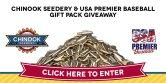 Chinook Seedery and USA Premier Baseball Gift Pack Giveaway - Giveaway Promote Open to: United States  Ending on: 07/10/2015