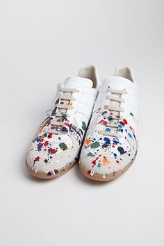 splatter done to perfection!