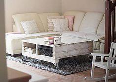 Nábytok - Paletkovsko-drevený konferenčný stolík - 7107465_