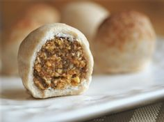 Raw Gingersnap Cookie Bon Bons