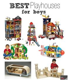 Best Playhouses for Boys #dollhouse #toys