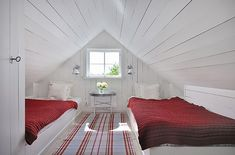 Swedish cottage charm...curled up with a good book and then out for an adventure!
