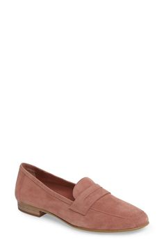 0e5615705ec Vince Camuto Elroy Penny Loafer (Women) Suede Loafers