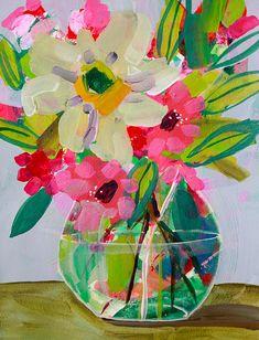 Floral Giclee Fine Art Made To Order Flower by AmandaEvanstonArt