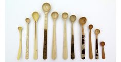 Full listing of artist/maker Nic Webb's works, past, current and up and coming. Wood and clay medium. Wooden Spoons, Wood Crafts, Woodworking, Clay, Tableware, Instagram Posts, Artist, Kitchen, Utensils