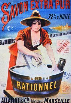 1895  Pal  Savon Le Rationel  144x100 cm