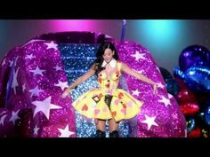 I can't wait to go to her concert!!! I wish I could borrow the rainbow outfit :)
