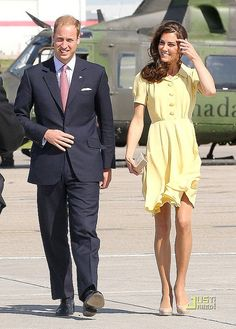 #Prince William and Kate with those great legs  :)