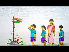Independence Day Drawing / Independence Day Poster / 15th August Drawing / Happy Independence Day - YouTube Independence Day Drawing, Independence Day Poster, Happy Independence Day, August 15, Drawings, Creative, Youtube, Painting, Art