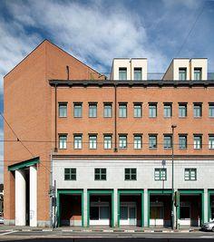 """Palazzo per uffici """"Casa Aurora"""", Aldo Rossi. © Angelo Morelli Aurora, Aldo Rossi, Angelo, Multi Story Building, Home, Architects, Northern Lights"""