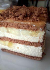 Takie tam moje pomysły: Bananowe, bez pieczenia Polish Recipes, Cake Cookies, Vanilla Cake, Tiramisu, Food And Drink, Cooking Recipes, Baking, Sweet, Ethnic Recipes