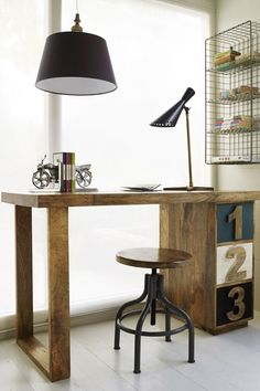 The Perfect Office - Oxymoron Desk, Lacie Fuel and Office Ideas!