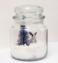 Décoration de Noël DIY : une boule à neige