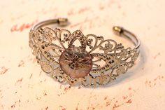 Dragonfly Filigree Cuff Bracelet. $20.00, via Etsy.