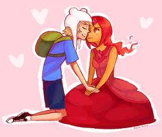 I love this new pairing. I was never I fan of the whole Finn/Princess Bubblegum