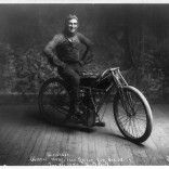 Weishaar, winner of 100-mile race, Norton, Kansas, Oct. 22, 1914.