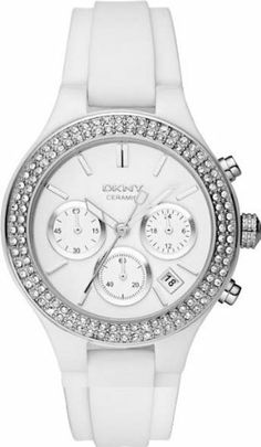 DKNY Ceramic Chronograph White Dial Women's watch #NY8185 DKNY. $111.00. bbbbbb. cccccc. Save 60%!
