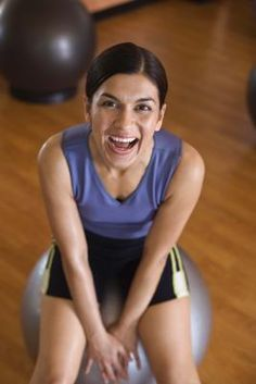 I can definitely do this!    Can Lightly Bouncing on an Exercise Ball Help the Lymphatic System?