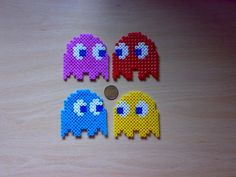 Pac-Man perler beads by ~HamaDouken on deviantART