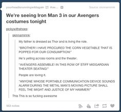 This is the best! So funny Marvel Dc, Marvel Comics, Dc Memes, Marvel Memes, Marvel Funny, Avengers Memes, My Tumblr, Tumblr Funny, Fandoms