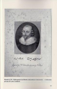 450 ° anniversario nascita W.Shakespeare nel libro di Carlo Lamberti