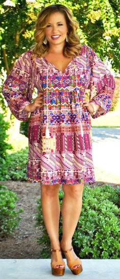 Perfectly Priscilla Boutique - Lead By Example Dress, $46.00 (http://www.perfectlypriscilla.com/lead-by-example-dress/)