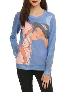 Pin for Later: 131 Gifts Fit For a (Disney) Princess Jasmine Disney Aladdin Jasmine Kiss Girls Pullover Top ($35 to $39)