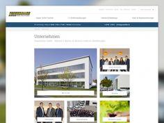 Webseite, Unternehmen