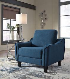 Epingle Par Meubles Ashley Homestore Sur Petit Espace Meuble Chaise Bleu Chaise De Salon