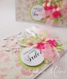 Gabi M. craftuje: CARDS Love Lacy Heart Peach