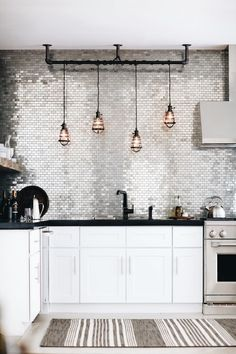 Silver tiles...? Like a disco ball on your wall | SV