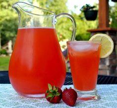 Strawberry Lemonade with honey: how to make honey syrup