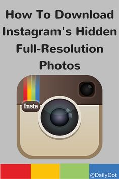 You can't download high-resolution images from Instagram. Unless you know this trick.
